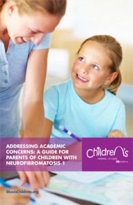 Addressing Academic Concerns for Children with NF1 Brochure