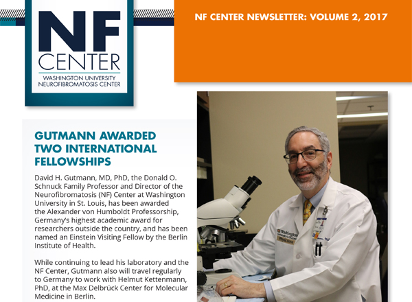 NF Center 2017, Volume 2 Newsletter Published