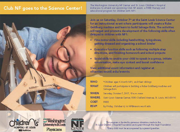 Club NF goes to the Science Center!