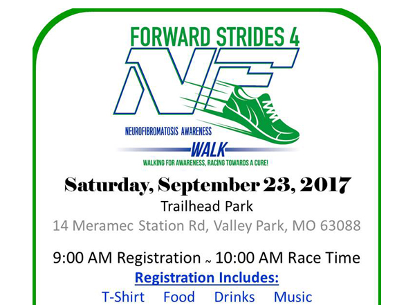 YOU'RE INVITED: Forward Strides 4 NF Walk