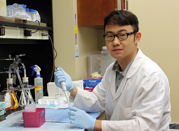 Gary Guo Joins the Gutmann Laboratory