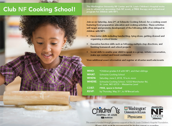 YOU'RE INVITED: Club NF Cooking School!
