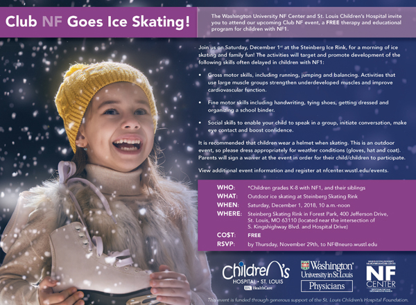 YOU'RE INVITED: Club NF Goes Ice Skating!