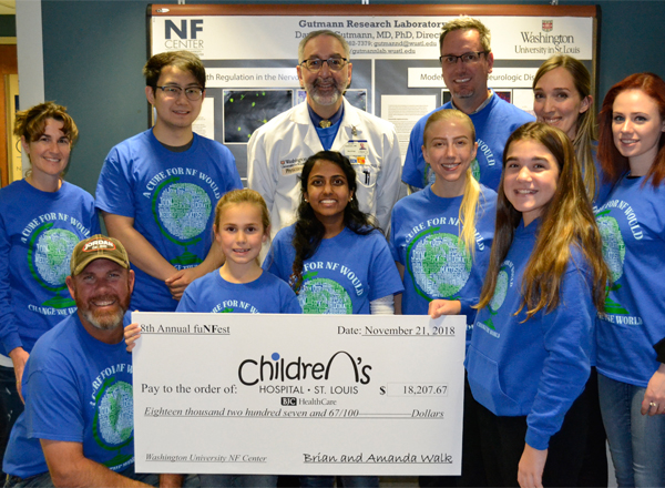 The Walk Family Hosts FuNFest to Raise Money for NF Research