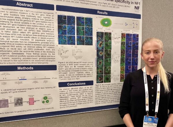 NF Center Trainee Presents at Annual American Neurological Association Meeting