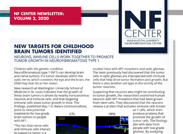 Check Out the NF Center Newsletter, Volume 2, 2020